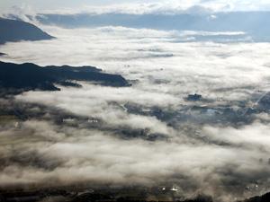 雲海が見える時間