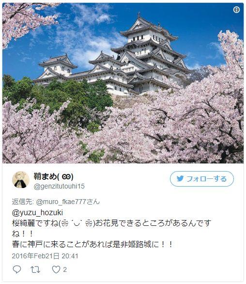 姫路城の混雑状況