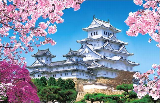 姫路城の桜2017