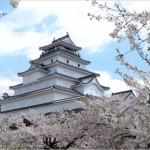 【会津若松城】桜2017の開花予想やライトアップ情報は?