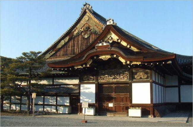 京都の二条城