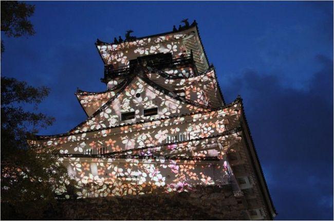 高知城の花回廊